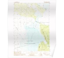 USGS Topo Map Oregon Military Crossing 280736 1988 24000 Poster