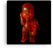 Dark Red baby Canvas Print