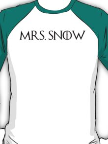 MRS. Snow T-Shirt