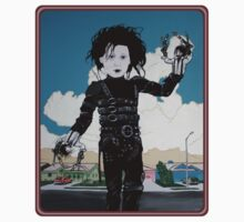 Edward Edward ScissorHands Hands by Jason Wright