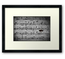 The Music of Life Framed Print