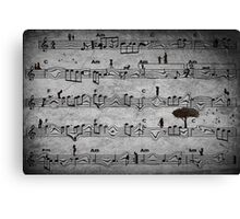 The Music of Life Canvas Print