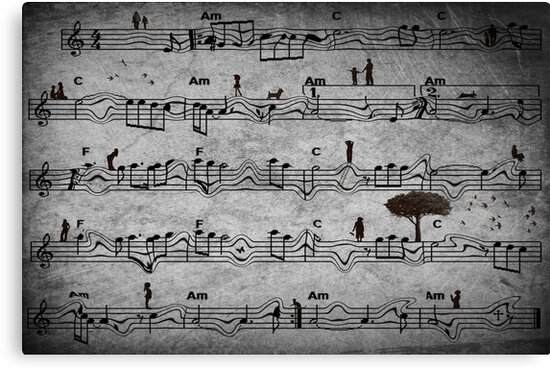 The Music of Life by Rookwood Studio ©