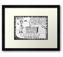 Listeria Hysteria Framed Print