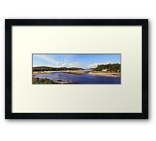 The House on the Right Bank. Framed Print