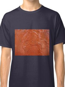 Thick and uneven layer of red paint Classic T-Shirt
