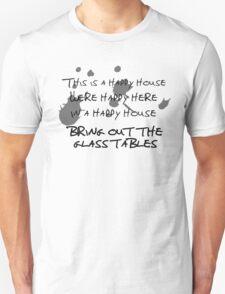 House of Balloons / Glass Table Girls Lyrics Highlight T-Shirt
