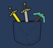 Minecraft Pocket by GeekyTees