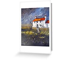 Moorland Cottage Greeting Card