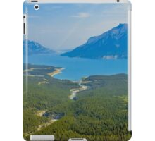 Aerial view of the Canadian Rockies iPad Case/Skin