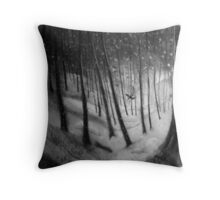 woodland sketch 2 Throw Pillow