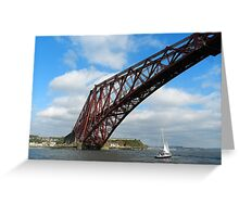 Our stunning Forth Bridge! Greeting Card