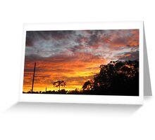 Morning Glory (Sunrise) - Kennedy, North Queensland, Australia Greeting Card