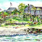 Houses @ Woodneck Beach by mleboeuf