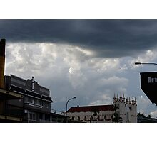Foreboding - Storm Passing Overhead Photographic Print