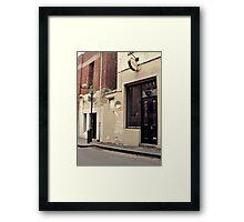 Glitzern Framed Print