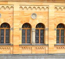 Neuschwanstein Castle Windows by Imagery