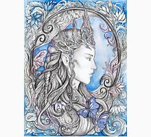 Elven Queen - blue Unisex T-Shirt
