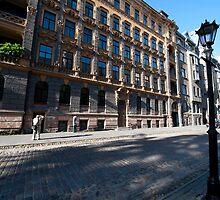 Art Nouveau Buildings in Riga by Mark Prior