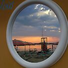 Sunset in the mirror by ambra2italy