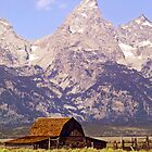 Teton Barn by Kenneth Keifer