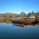 Queen Of The Lake Windermere by John Hare