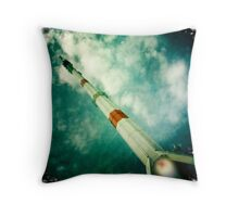 Fly me to the moon! Throw Pillow