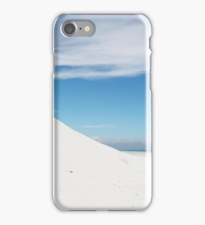 Sand dune and beach iPhone Case/Skin