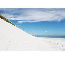 Sand dune and beach Photographic Print