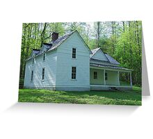 Woody House Greeting Card