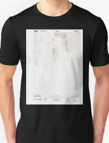 USGS Topo Map Oregon Andrews 20110818 TM Unisex T-Shirt