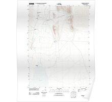 USGS Topo Map Oregon Andrews 20110818 TM Poster