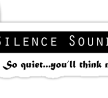 Silence Soundproofing Sticker