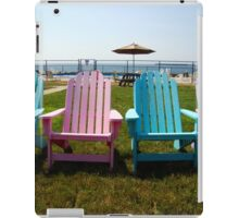 Adirondack Chairs iPad Case/Skin
