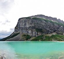 Panoramic of Lake Louise, Banff National Park, Canada by Luke Farmer