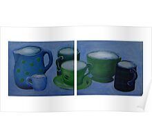 Cups,Mugs and Jugs  Poster