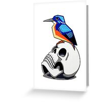 Azure Kingfisher (Canary Series 1) Greeting Card