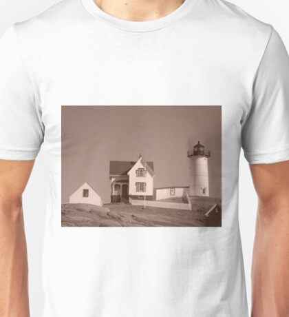 Nubble Lighthouse Unisex T-Shirt