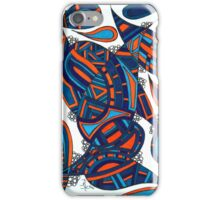 Blueorange iPhone Case/Skin