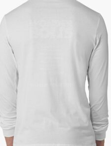 Skyway To The Danger Zone Long Sleeve T-Shirt