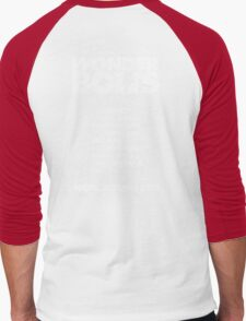 Skyway To The Danger Zone Men's Baseball ¾ T-Shirt