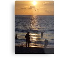 The end of a successful day Metal Print