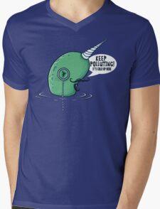 Evil Narwhal Favors Global Warming T-Shirt