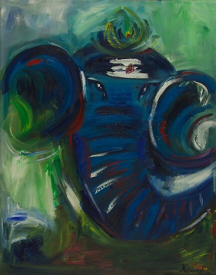 Moonlight Ganesh by kajalzaveri