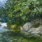Killarney Lake. by Guennadi Kalinine