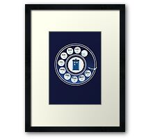 Call the Doctor Framed Print