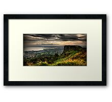 Belfast Lies Beneath Framed Print