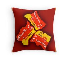 Goodbye Kodachrome Throw Pillow