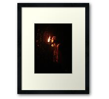 Lighting Up the Night Framed Print