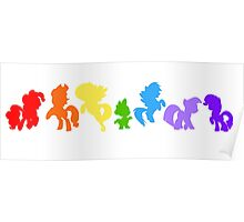 My Little Pony: Friendship is Rainbows Poster